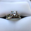 0.78ct Round Brilliant Diamond Bridal Set by Cartier 64