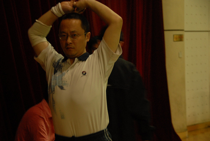 [20100918] Badminton PK with Hou Jiachang (1).JPG