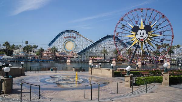 Disneyland Resort, Disney California Adventure, Paradise Pier, Paradise, Pier, Park, Water, Fountain