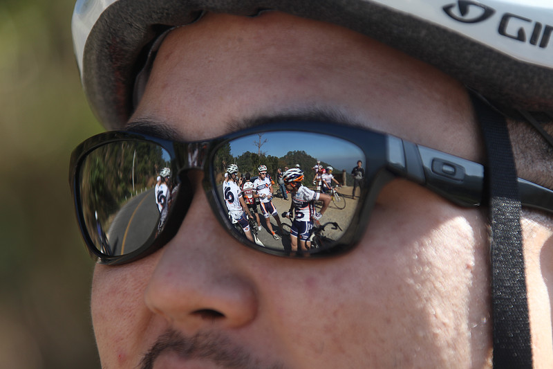 Champion System team training camp and launch, Chiang Mai, Thailand, 2011. Regroup and reflect after a long climb
