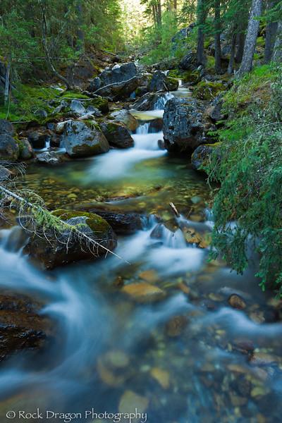 Galatea Creek in Kananaskis Country Alberta.