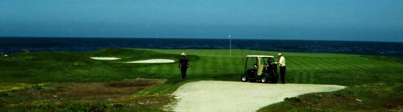 Pebble Beach Golf Course - Monterey, California