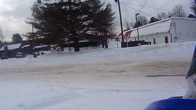 Snowmobiling in Old Forge 1-13-16