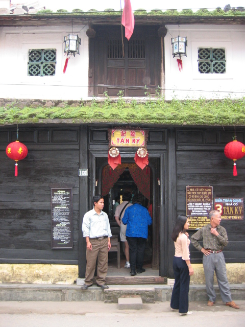 The oldest house in Hoi An. It is still occupied, although the family offers tours.