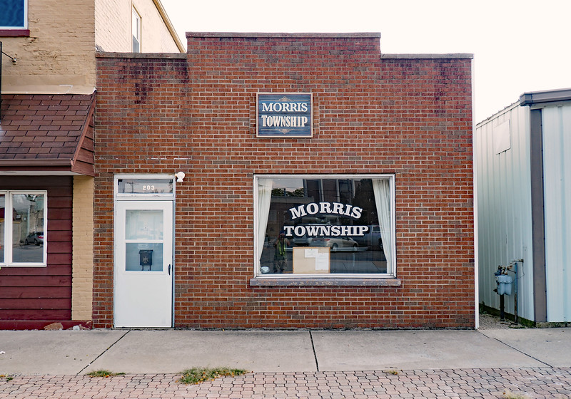 Morris Township office on Washington Street.