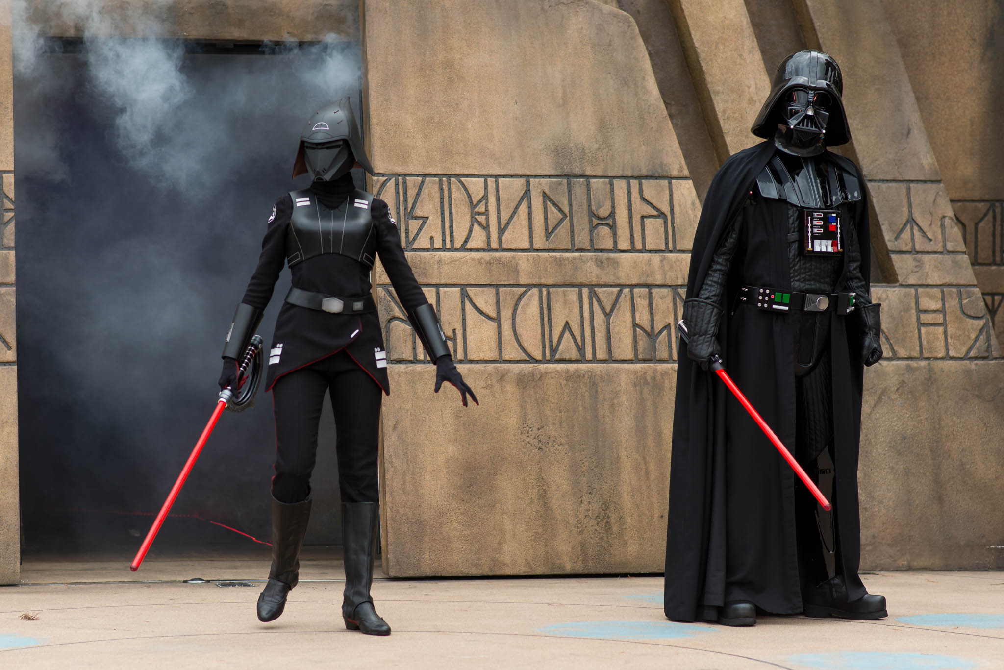 Disney's Hollywood Studios - Jedi Training Villains