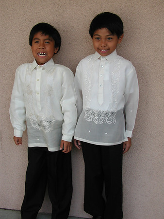 Christopher's first communion 2007