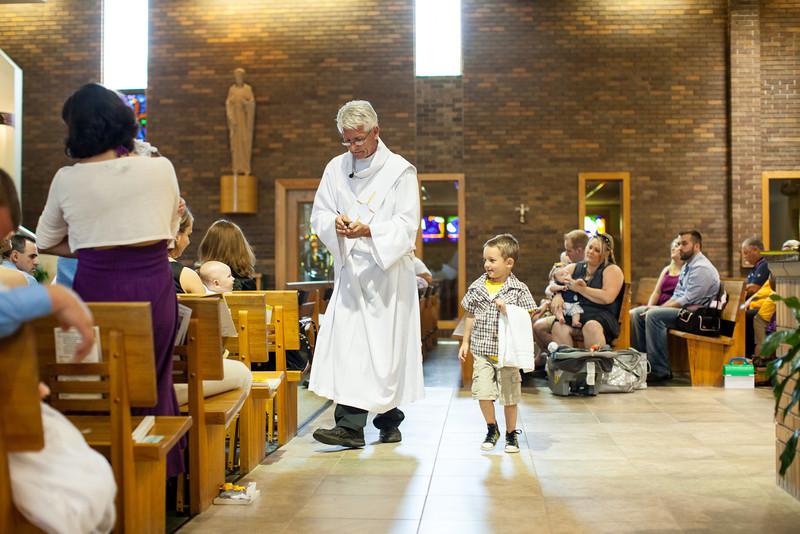Henry's Christening