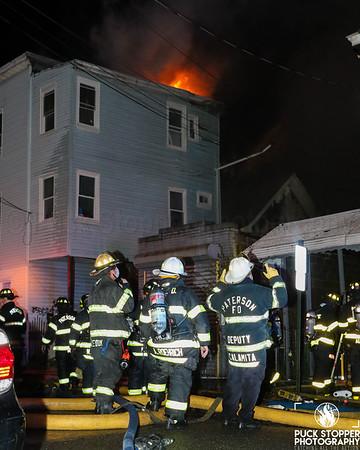 6 Alarm Multiple Dwellings Fire - 81 Beech St, Paterson, NJ - 5/9/20