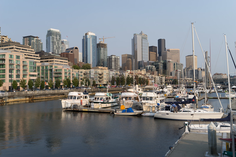 Pier 66, Seattle; Mystic Isle 3rd from the left.