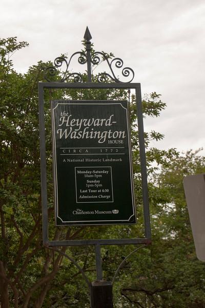 SC, Charleston-Heyward-Washington House