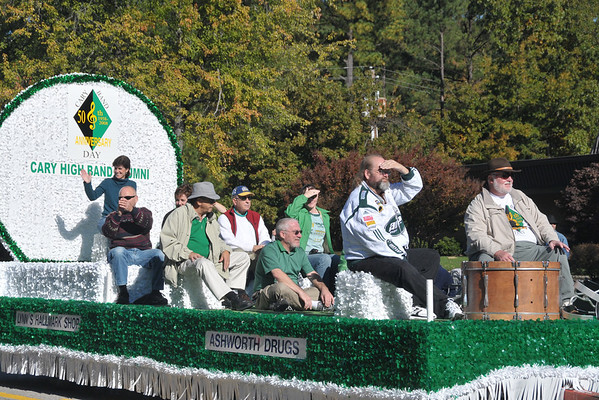 2008-11-01: Cary Band Day Parade