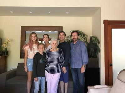 Visiting Mom & Tony