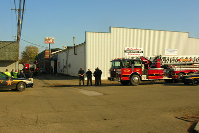 10-25-11 Coshocton FD Structure Fire