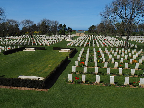 Normandy - Gold, Juno and Sword Beaches and the Canadian Cemetary