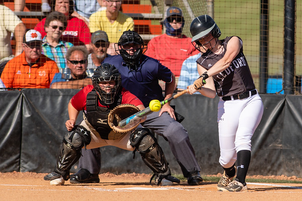 Ledford vs South Rowan Softball