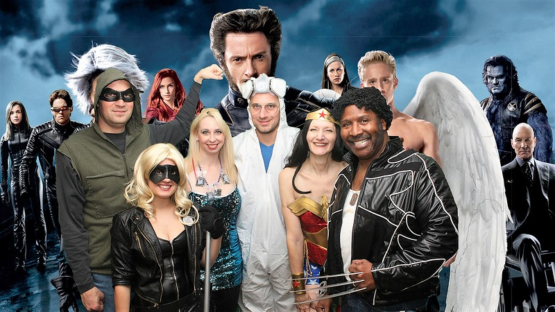 Green Arrow, Black Canary, Walter White (Heisenberg) his Meth,Wonder Woman and Wolverine-X-Men