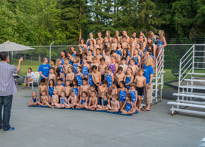 High Woodlands Swim Team Meets