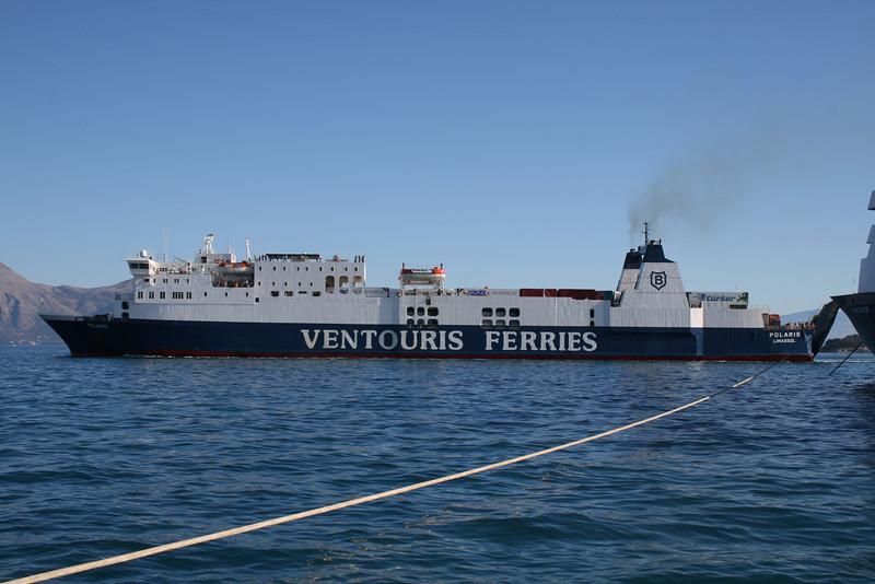 2010 - F/B POLARIS arriving to Corfu.