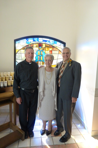 Father Jim, Beverly and Robert