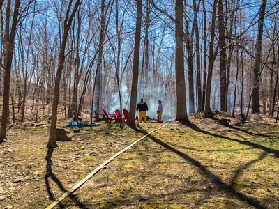 4-22-18 Brush Fire, Old Albany Post Road