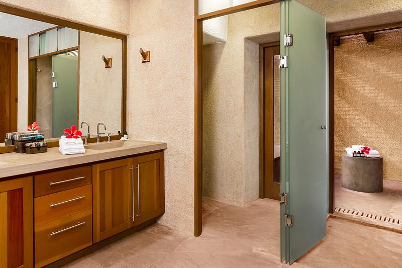 Master Bathroom; Las Residencias at Esperanza Resort, Los Cabos, Mexico
