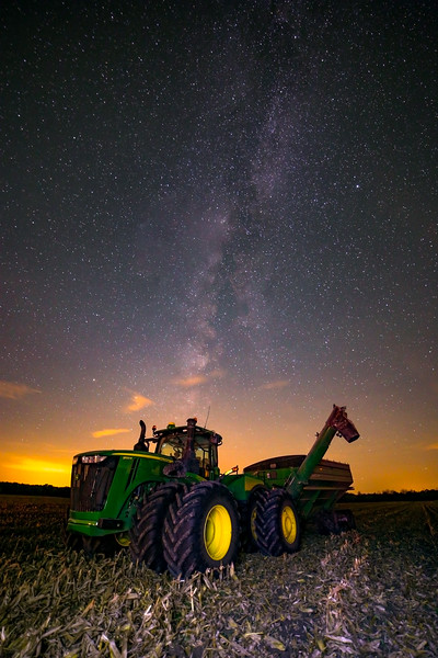 Harvest Milky Way