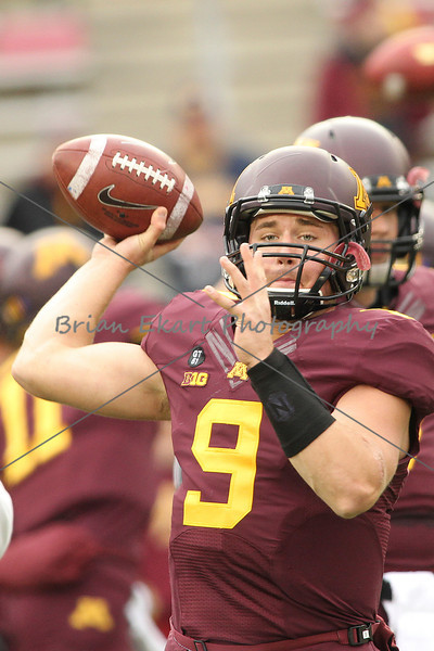 MN Gophers vs Michigan Wolverines - 11/3/12