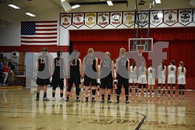 East Sac County @ Pocahontas Area Girls Basketball 1/30/18