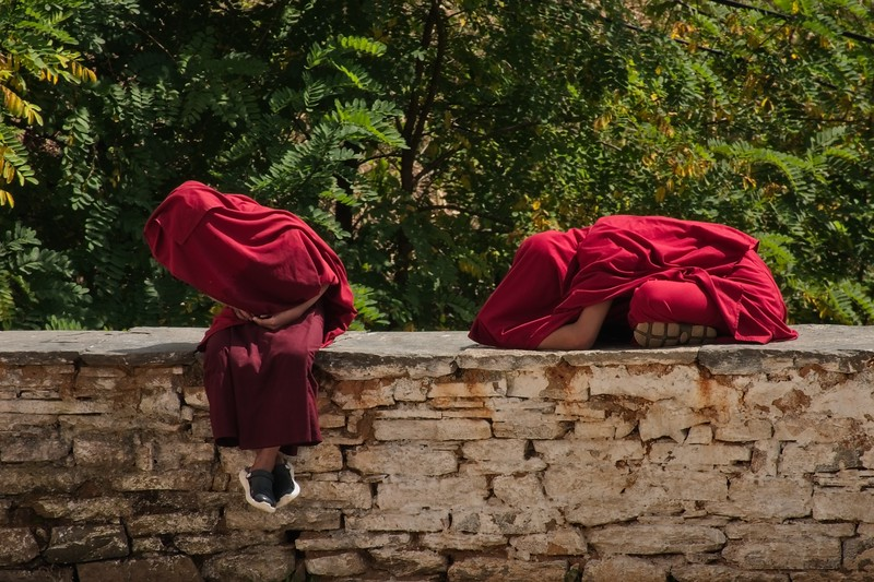young monks in covered robes.jpg