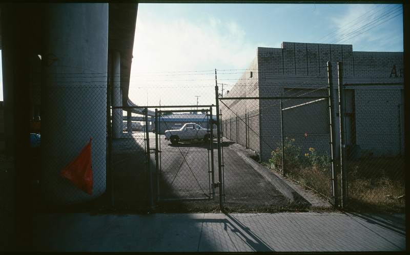 Industrial buildings on East 7th Place from Mateo Street to Wilson Street, Los Angeles, 2003