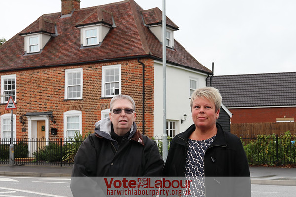 'Calls to replace stolen boundary marker in Main Road, Dovercourt'