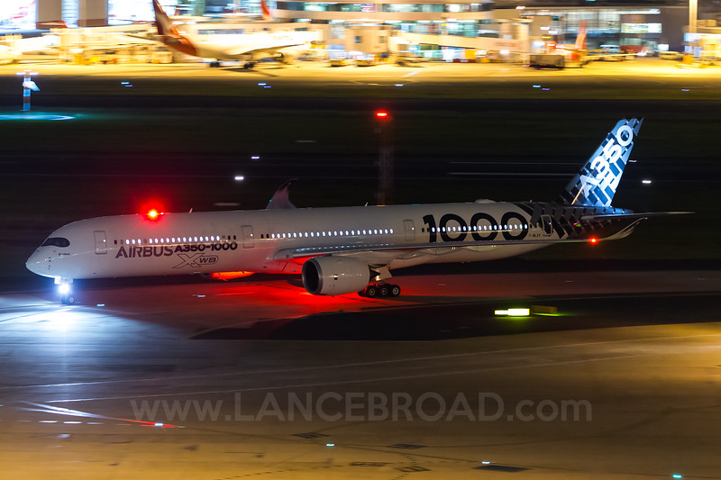 Airbus A350-1000 F-WLXV - SYD
