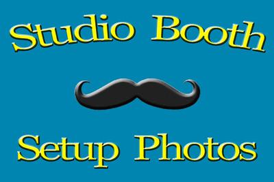 Studio Booth Setup Photos