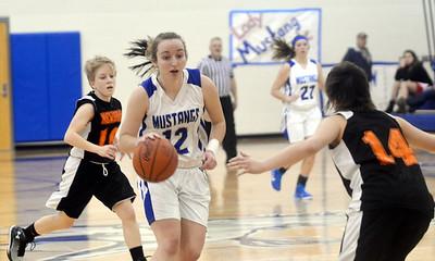 Newbury at Grand Valley girls basketball 1.5.15