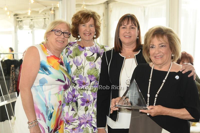Linda Pearlman, Elisa Greenbaum, Alicia Yacoby, Gloria Kaylie  photo by Rob Rich/SocietyAllure.com ©2019 robrich101@gmail.com 516-676-3939