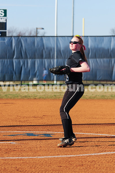 Softball: Dominion at Woodgrove (3-31-2014 by Jeff Vennitti)