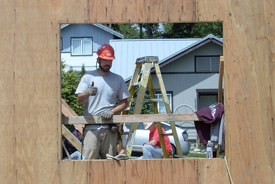 """6/14/2008 Snoqualmie Ridge- """"Our House Build Day 2"""""""