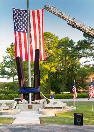 9/11 Fairfield Harbour Memorial photos