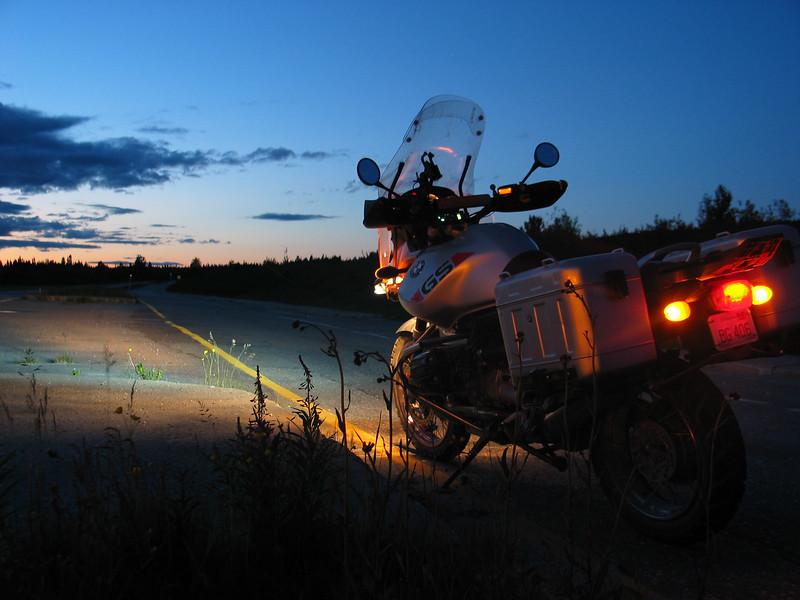 R1150GS at dusk