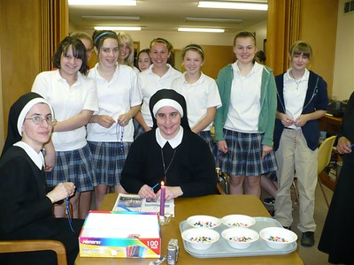 E:\SASEAS 8th Grade Girls visit to St. Joseph the Worker Convent