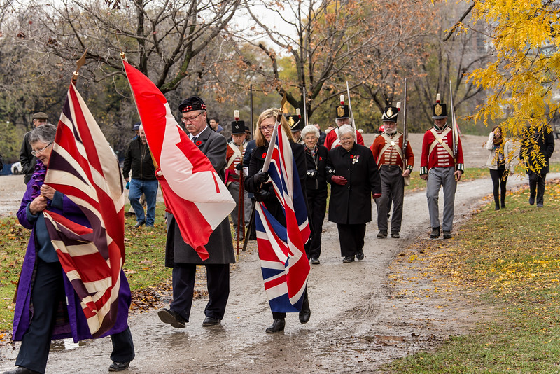 Remembrance Day Services 2015