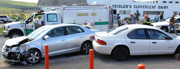 Two Vehicle Accident, Catawissa Road, Lewistown Valley (9-23-2013)
