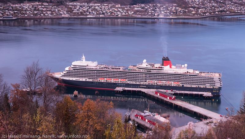 Kaiåpning og cruisebesøk 15. oktober 2019