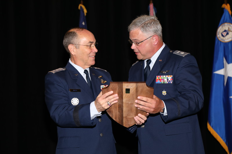 The Inspector General of the Year Award recognizes the IG who has made significant contributions to the CAP IG Program.  This year's winner is Lt Col Todd Scioneaux.  Photo by Susan Schneider, CAPNHQ