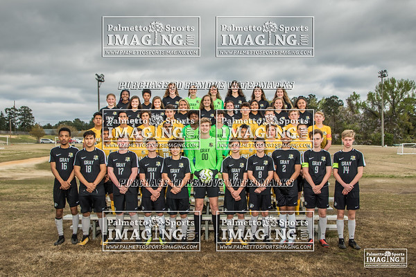 Gray Collegiate Academy 2019 Soccer Team and Individuals