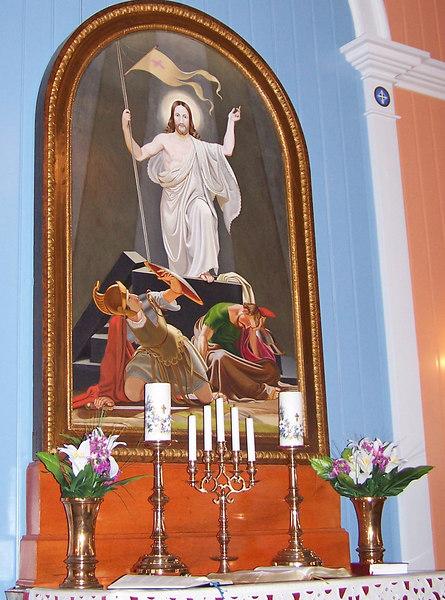 Altaristaflan í Strandarkirkju
