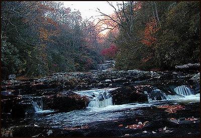 Snowbird Creek below Big Falls NC