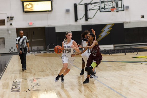 Girls Basketball vs Peoria Central Jan. 13, 2107