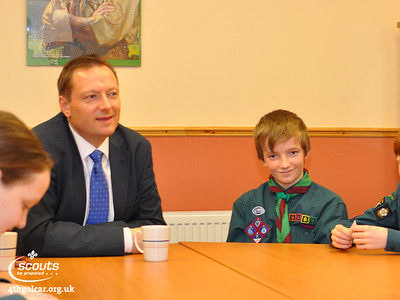 February - PR Badge - Interviewing Jason McCartney MP for Colne Valley